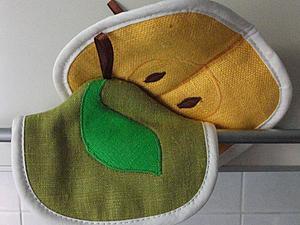Шьем удобные кухонные прихватки. Ярмарка Мастеров - ручная работа, handmade.