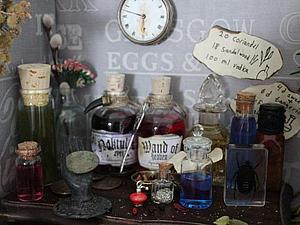 Наши бутылочки поучаствовали в волшебной фотосессии   Ярмарка Мастеров - ручная работа, handmade