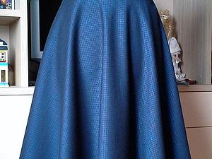 Шьем юбку-полусолнце. Ярмарка Мастеров - ручная работа, handmade.