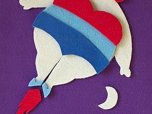 шерстяные иллюстрации | Ярмарка Мастеров - ручная работа, handmade