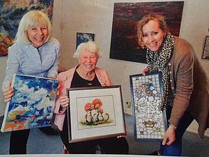 Норвежские художники. Три женщины, три поколения, три судьбы...   Ярмарка Мастеров - ручная работа, handmade