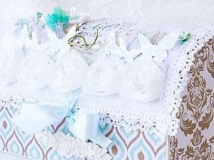Свадебный сундучок для денежных подарков. | Ярмарка Мастеров - ручная работа, handmade