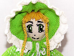 Моя новая работа - кукла Поллианна | Ярмарка Мастеров - ручная работа, handmade