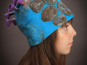 Шапочки и шляпки из войлока - летние цены!   Ярмарка Мастеров - ручная работа, handmade