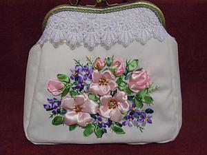 Волшебное преображение недошитой юбки в вышитую сумочку. Ярмарка Мастеров - ручная работа, handmade.
