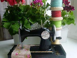 История моего уголка для пошива куклы Тильда. | Ярмарка Мастеров - ручная работа, handmade