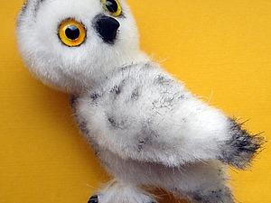 Делаем лохматые лапки для совенка. Ярмарка Мастеров - ручная работа, handmade.