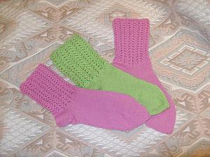 Ода вязанным носочкам | Ярмарка Мастеров - ручная работа, handmade