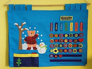 Как сделать вечный развивающий календарь для детей. Ярмарка Мастеров - ручная работа, handmade.