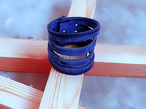 браслет из старого ремня | Ярмарка Мастеров - ручная работа, handmade