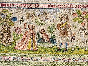 Английская вышивка XVI-XVII веков - всеобщее хобби. Ярмарка Мастеров - ручная работа, handmade.