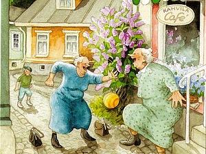 Веселые старушки Инге Лоок | Ярмарка Мастеров - ручная работа, handmade