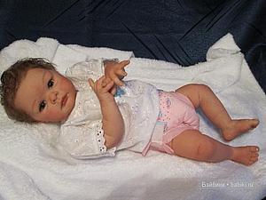 Малышка Джулия - кукла реборн Инны Богдановой | Ярмарка Мастеров - ручная работа, handmade