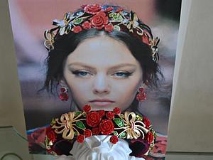 Tiara Roses And Olives - 2  2016 в стиле Dolce&gabbana | Ярмарка Мастеров - ручная работа, handmade