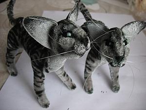 Кот каркасный . Миссия выполнима! | Ярмарка Мастеров - ручная работа, handmade