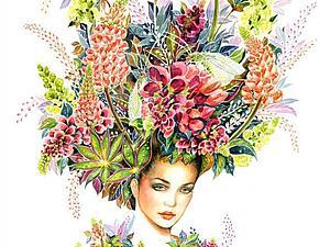 Модный иллюстратор Sunny Gu   Ярмарка Мастеров - ручная работа, handmade