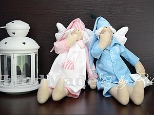 Спящие ангеля для благотворительных фестивалей | Ярмарка Мастеров - ручная работа, handmade