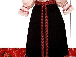 История Руссого народного костюма. Сарафан. | Ярмарка Мастеров - ручная работа, handmade