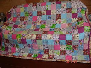 Завершено новое лоскутное одеяло на заказ в розовых тонах | Ярмарка Мастеров - ручная работа, handmade