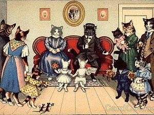 Кошачий мир глазами Eugen Hartung | Ярмарка Мастеров - ручная работа, handmade