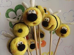 Мастер-класс: неправильные пчёлы, которые не делают мёд. Ярмарка Мастеров - ручная работа, handmade.