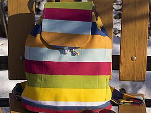 Рюкзак Вашей мечты с Вашей тканью и идеей | Ярмарка Мастеров - ручная работа, handmade