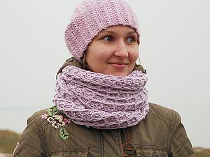 Аукцион!!! Стильный теплый шарф