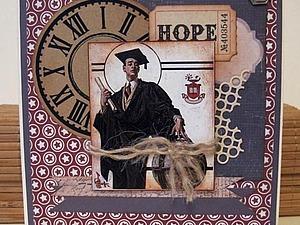 Мастер класс по Скрапбукингу :  Открытка  к 23 февраля   Ярмарка Мастеров - ручная работа, handmade