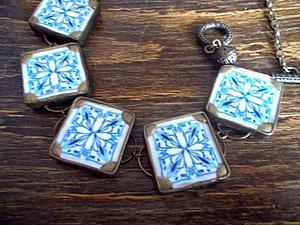 Лепим оригинальное ожерелье из полимерной глины. Ярмарка Мастеров - ручная работа, handmade.