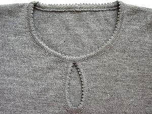 Мастер-класс: оформление горловины с помощью кеттельного шва. Ярмарка Мастеров - ручная работа, handmade.