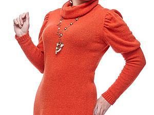 """Вяжем платье на машине от """"А"""" до """"Я"""". Часть 1. Ярмарка Мастеров - ручная работа, handmade."""