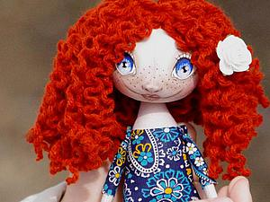 МК по созданию текстильной куколки   Ярмарка Мастеров - ручная работа, handmade