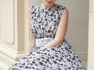 Платье в стиле 60-х гг | Ярмарка Мастеров - ручная работа, handmade