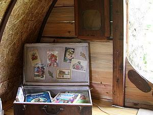 Домик хоббита в нашем саду-2. ИНТЕРЬЕР | Ярмарка Мастеров - ручная работа, handmade