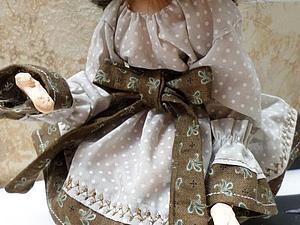 работаю над новой куколкой | Ярмарка Мастеров - ручная работа, handmade