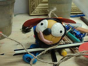 Творим вместе с малышами: пчелка-шумелка своими руками | Ярмарка Мастеров - ручная работа, handmade
