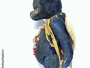Мастер-класс по созданию большого тортюрного плюшевого медведя | Ярмарка Мастеров - ручная работа, handmade