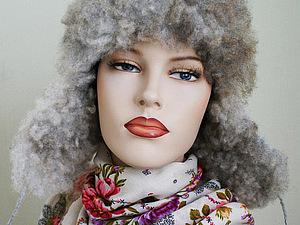 Мастер-класс Власовой Е. по валянию шапки ушанки с флисом в Москве.   Ярмарка Мастеров - ручная работа, handmade