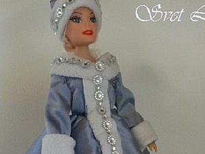 Отличный подарок на Новый год кукла Барби Снегурочка шкатулка   Ярмарка Мастеров - ручная работа, handmade