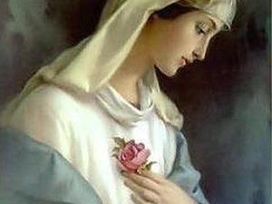 Роза — цветок Богородицы. Ярмарка Мастеров - ручная работа, handmade.