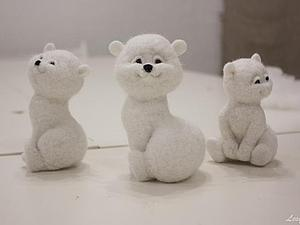 Мишки с далёкого севера :)   Ярмарка Мастеров - ручная работа, handmade