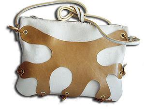 МК по шитью сумки из кожи Ярмарка Мастеров - ручная работа, handmade.