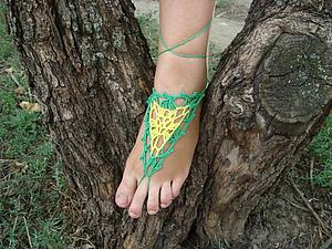 Ах, какие ножки! ( анонс коллекции украшений для ног) | Ярмарка Мастеров - ручная работа, handmade