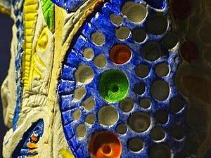 Волшебный сосуд, лепка из глины | Ярмарка Мастеров - ручная работа, handmade