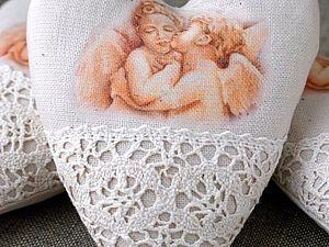 Создаем симпатичные винтажные сердечки | Ярмарка Мастеров - ручная работа, handmade