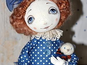 Текстильная кукла Тыквоголовка | Ярмарка Мастеров - ручная работа, handmade