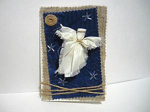 Ангелы к Рождеству из бумаги  Irzeis