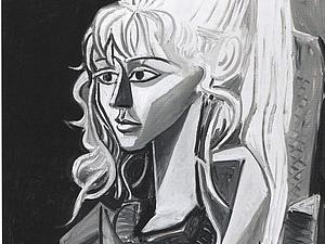 Пикассо и Модель | Ярмарка Мастеров - ручная работа, handmade