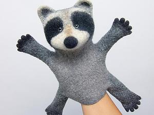 Создаем замечательных зверей-бибабо! | Ярмарка Мастеров - ручная работа, handmade