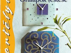 Новые идеи для витражных часиков | Ярмарка Мастеров - ручная работа, handmade